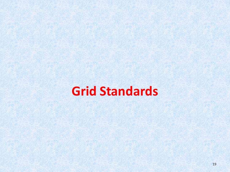 Grid Standards 19