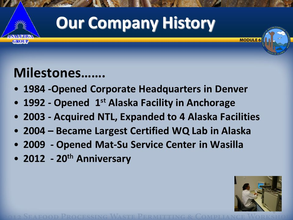 7 Three ALASKA SERVICE CENTERS Fairbanks Wasilla Our Locations Our Locations Anchorage