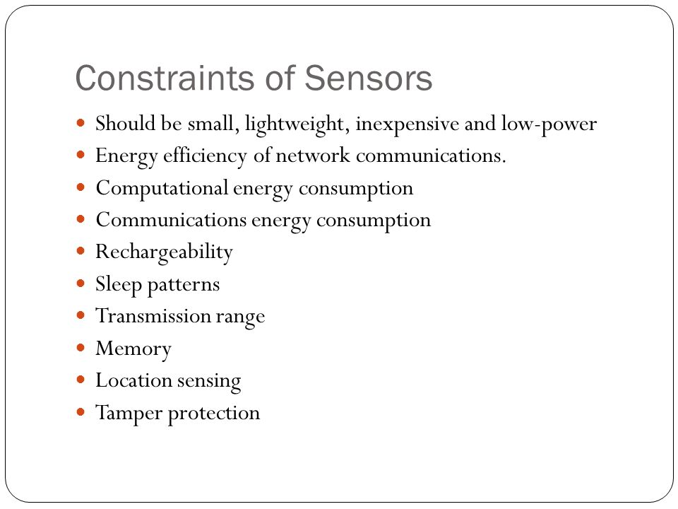 Sensor Networks Sensor Network Is a wireless network consisting of spatially distributed autonomous devices using sensors to cooperatively monitor physical or environmental conditions.