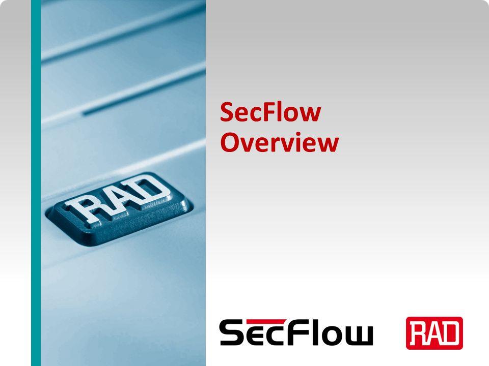 SecFlow2013 Slide 2 U&T Target Market Segments Utilities Power Water Oil & Gas Mining Transportation Railways Motorways Air Traffic Control Maritime