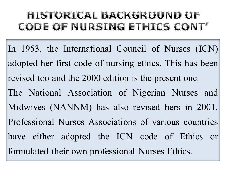 This section demands the followings from the nurse: 1.Decisional capacity: Consent must be obtained from legally accepted individual.