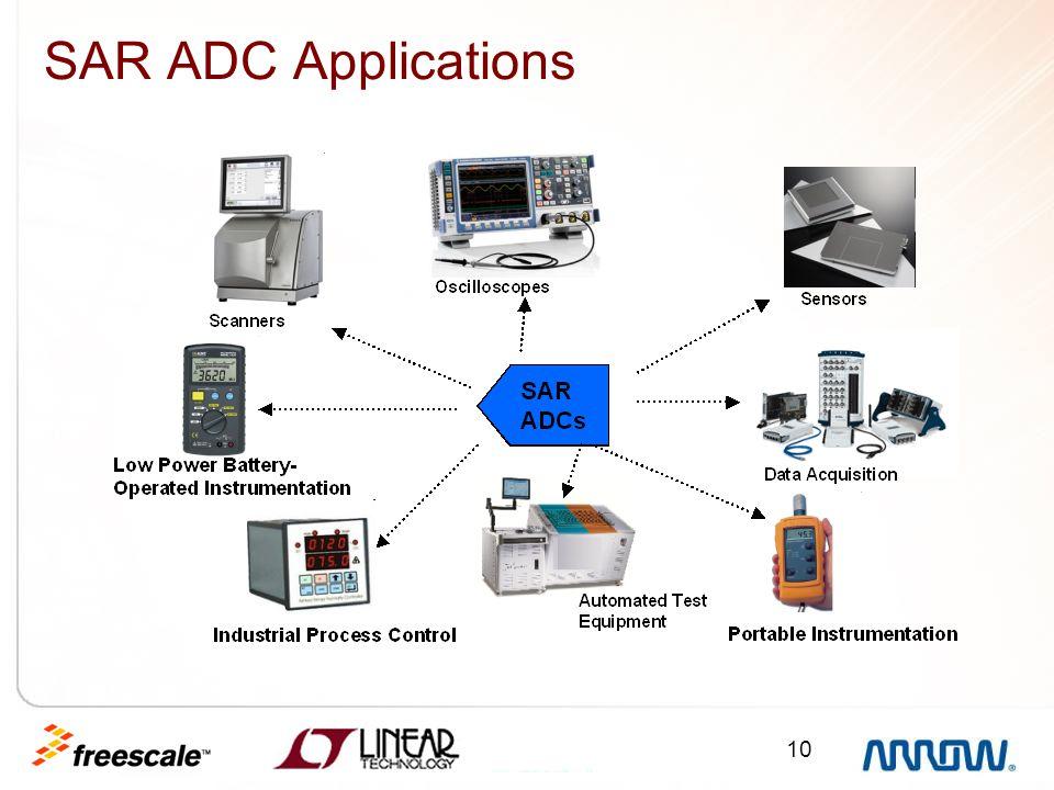 10 SAR ADC Applications