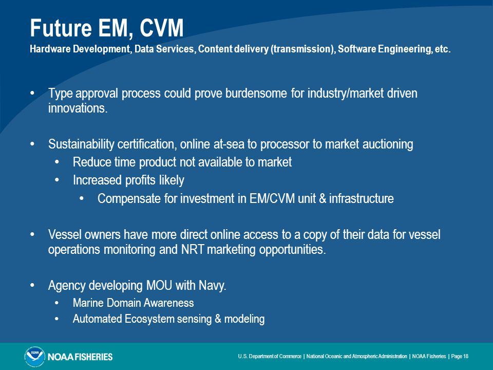 Future EM, CVM Hardware Development, Data Services, Content delivery (transmission), Software Engineering, etc.