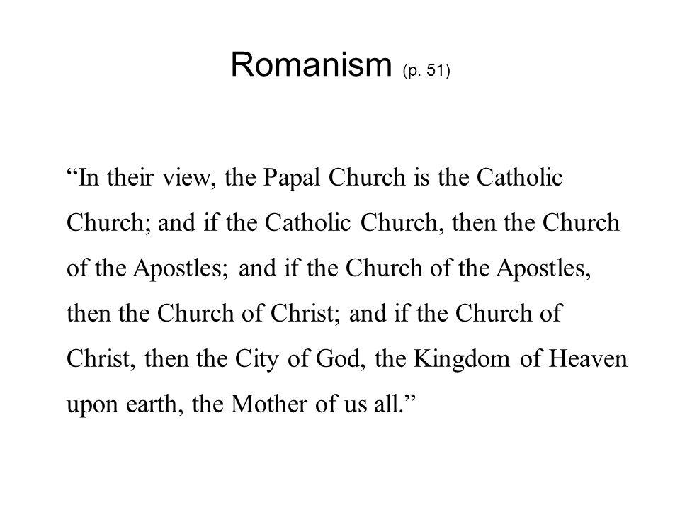 Romanism (p.