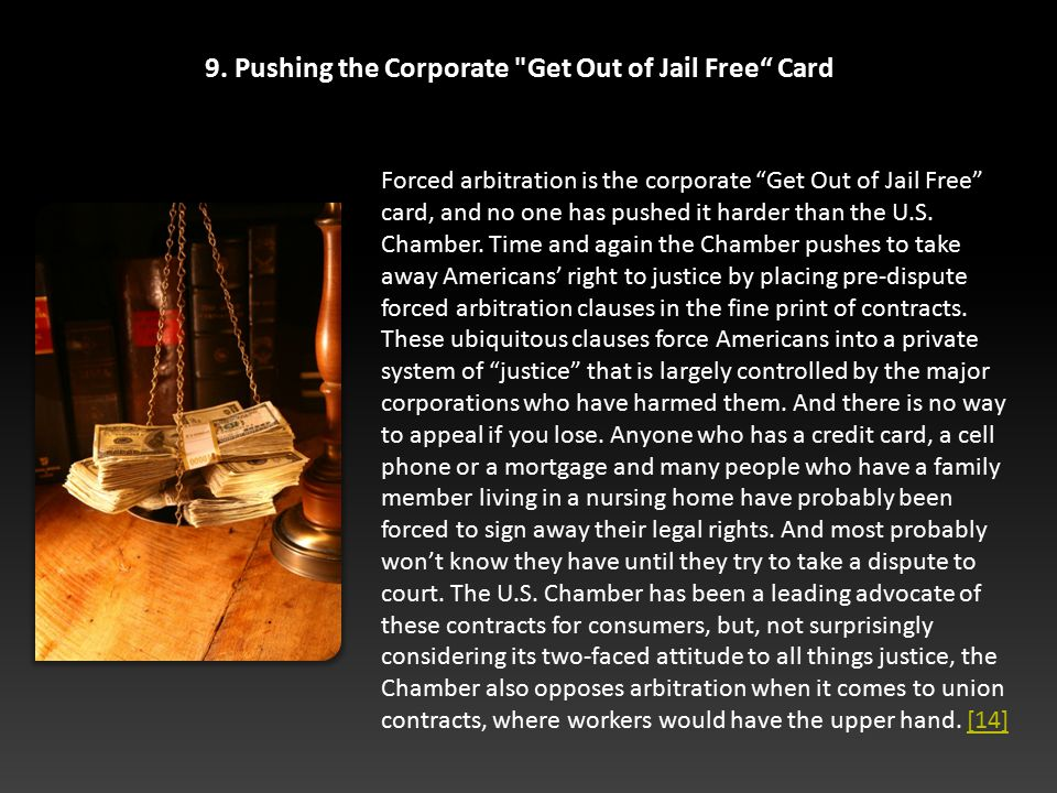 9. Pushing the Corporate