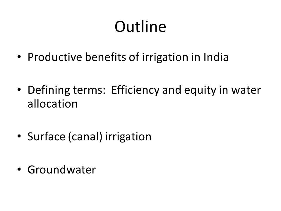 Groundwater Crisis.