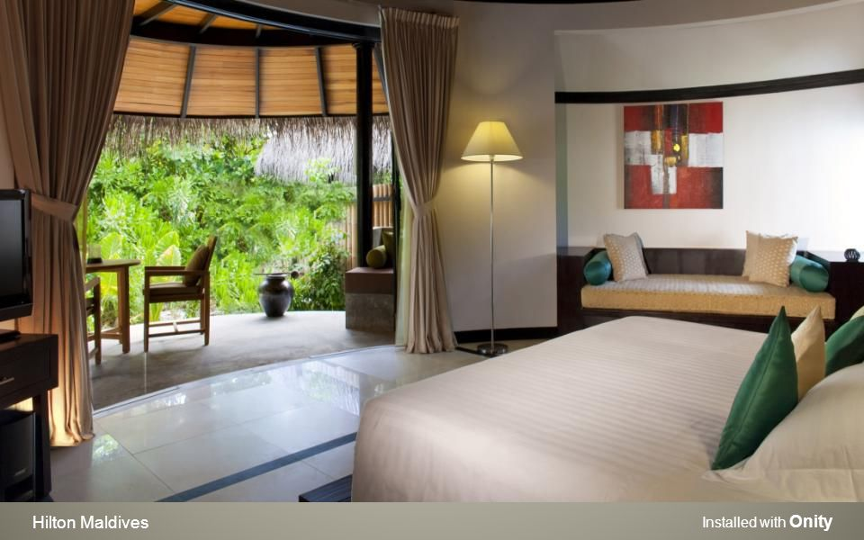 Hilton Maldives Installed with Onity
