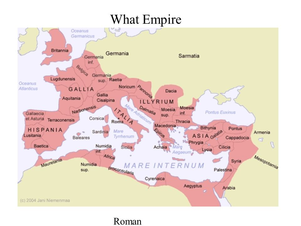 What Empire Roman