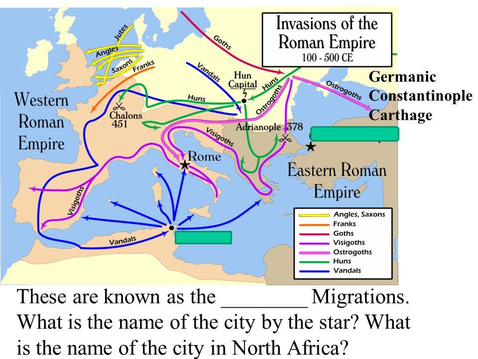 This slide illustrates the _______-_________ c_________ routes Trans Saharan, caravan