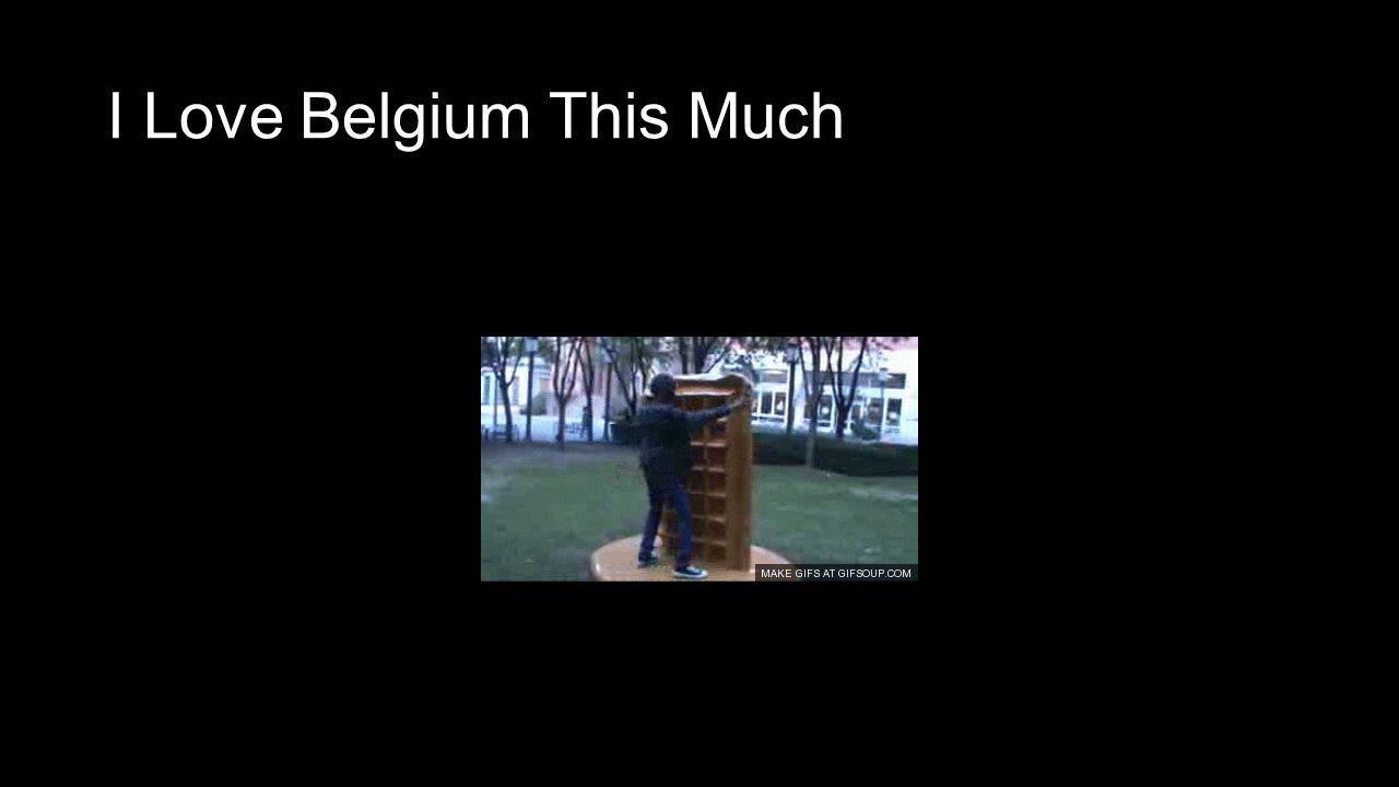 I Love Belgium This Much