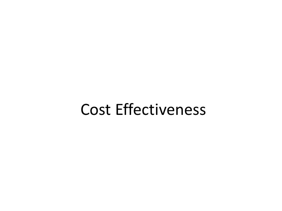 Risk Assessment Cost Benefit Analysis