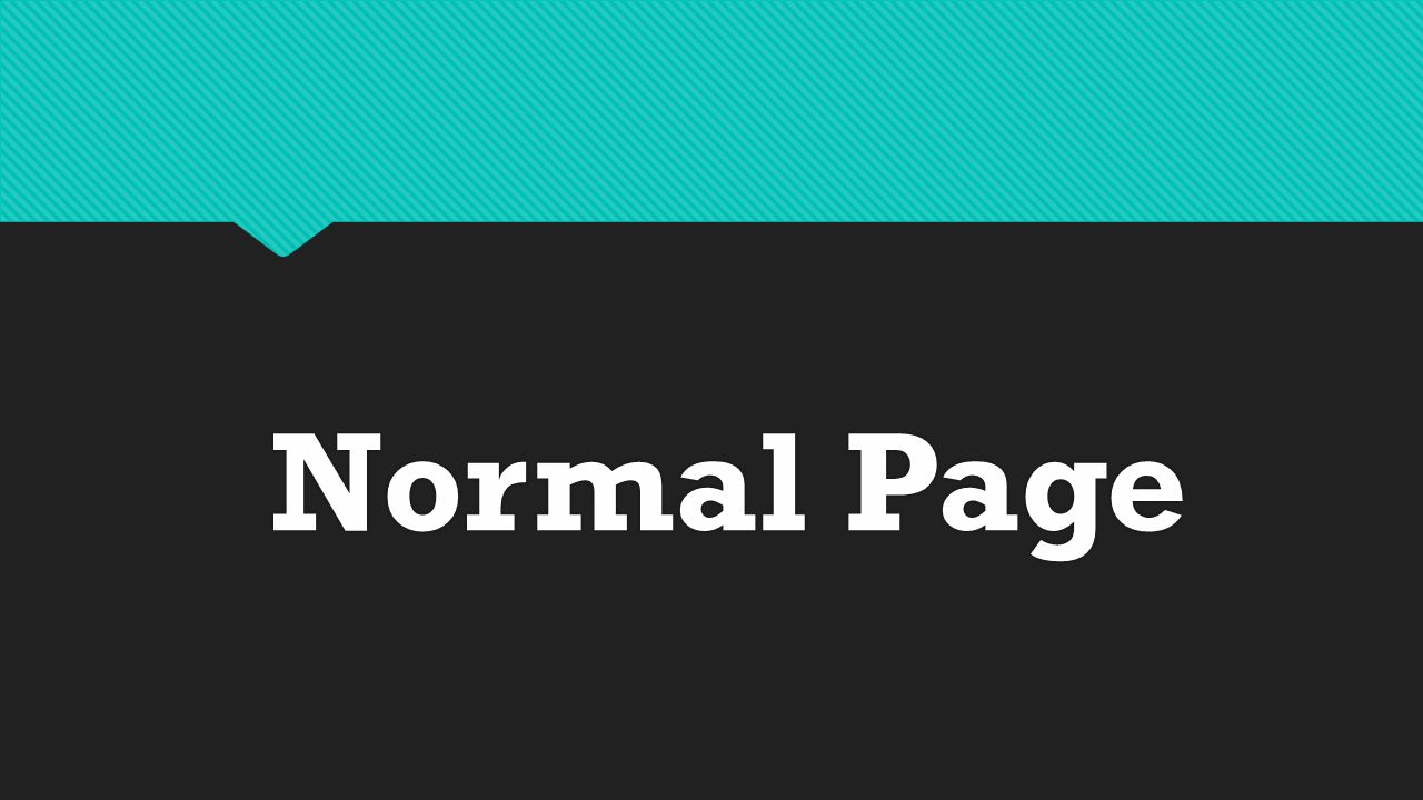 Normal Page