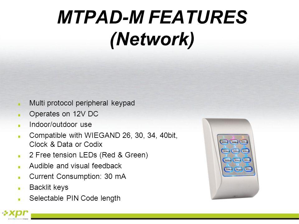 MTPADS-M PRODUCT REFERENCES MTPADC-MMTPADB-MMTPADR-MMTPADG-MMTPADW-M