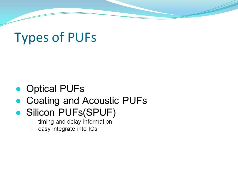 PUF Circuits ● Lightweight Secure PUF[7] Hardware Security and Trust, CE, SUT