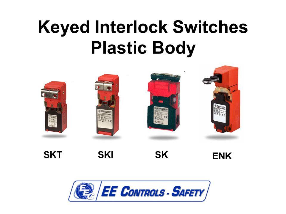 Keyed Interlock Switches Plastic Body SKTSKISK ENK