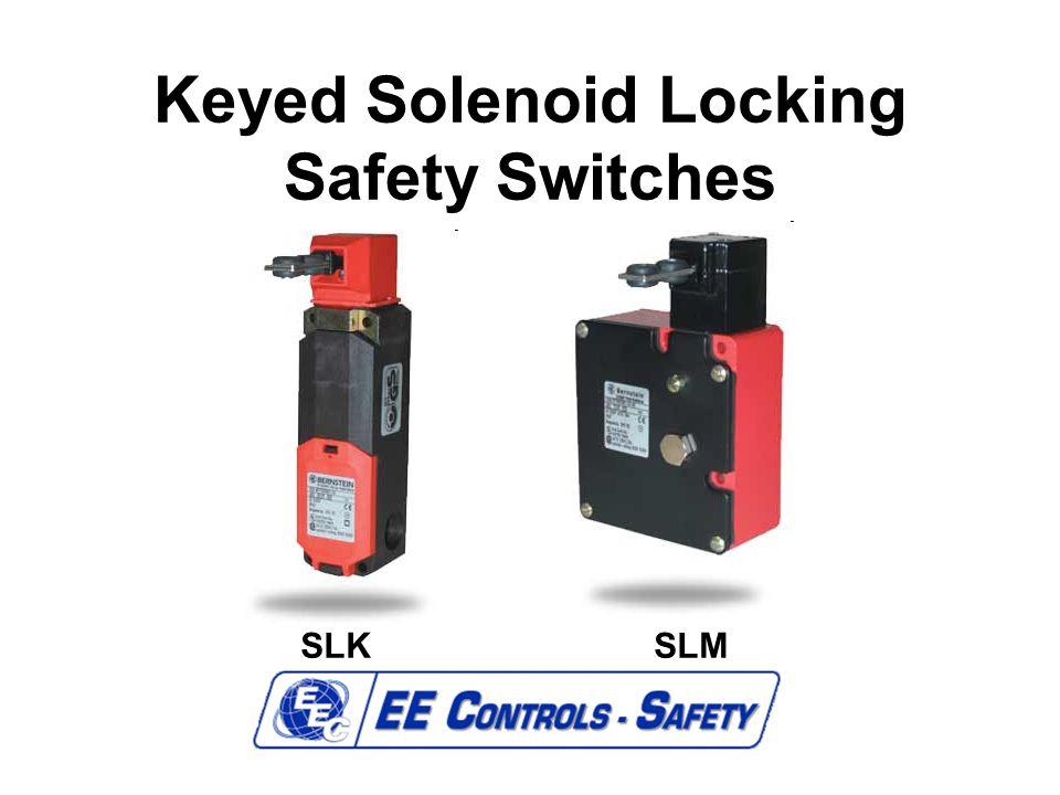Keyed Solenoid Locking Safety Switches SLKSLM