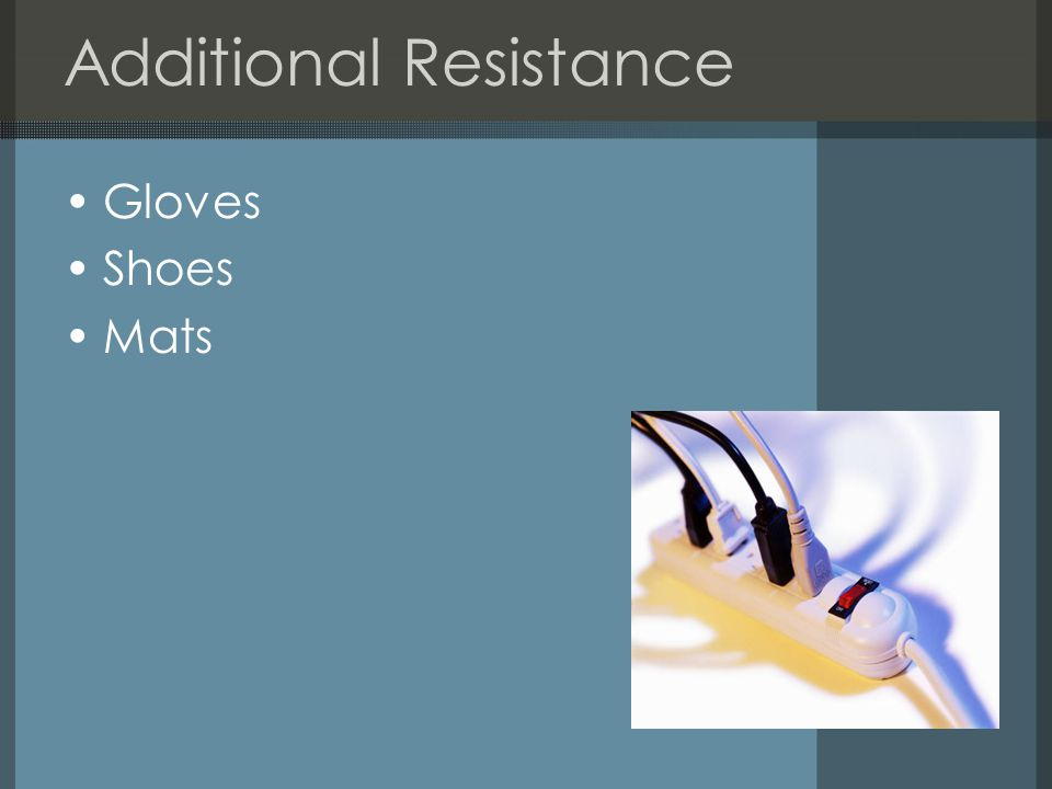 Additional Resistance Gloves Shoes Mats