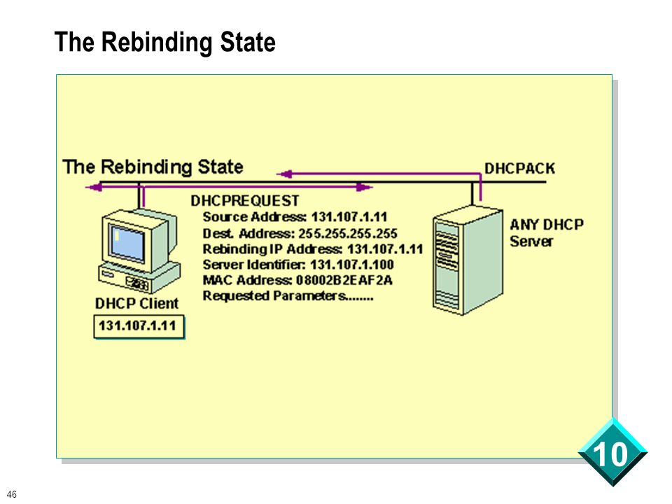 46 10 The Rebinding State