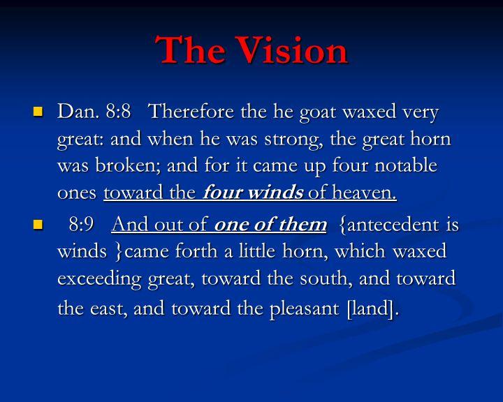 The Vision Dan.