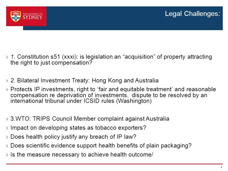 Legal Challenges: ›1.