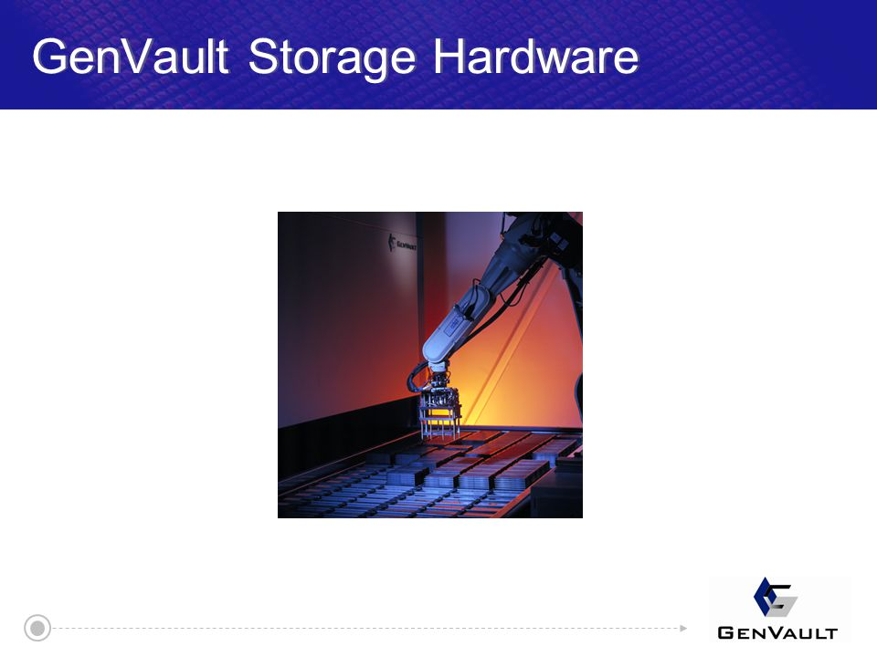GenVault Storage Hardware