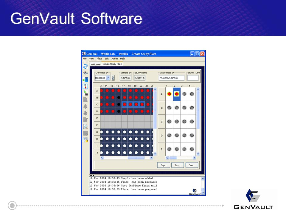 GenVault Software