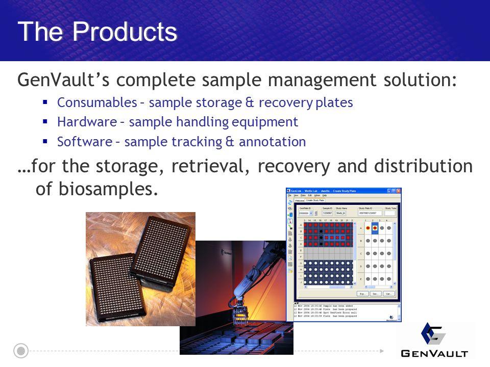 GenVault Software Architecture