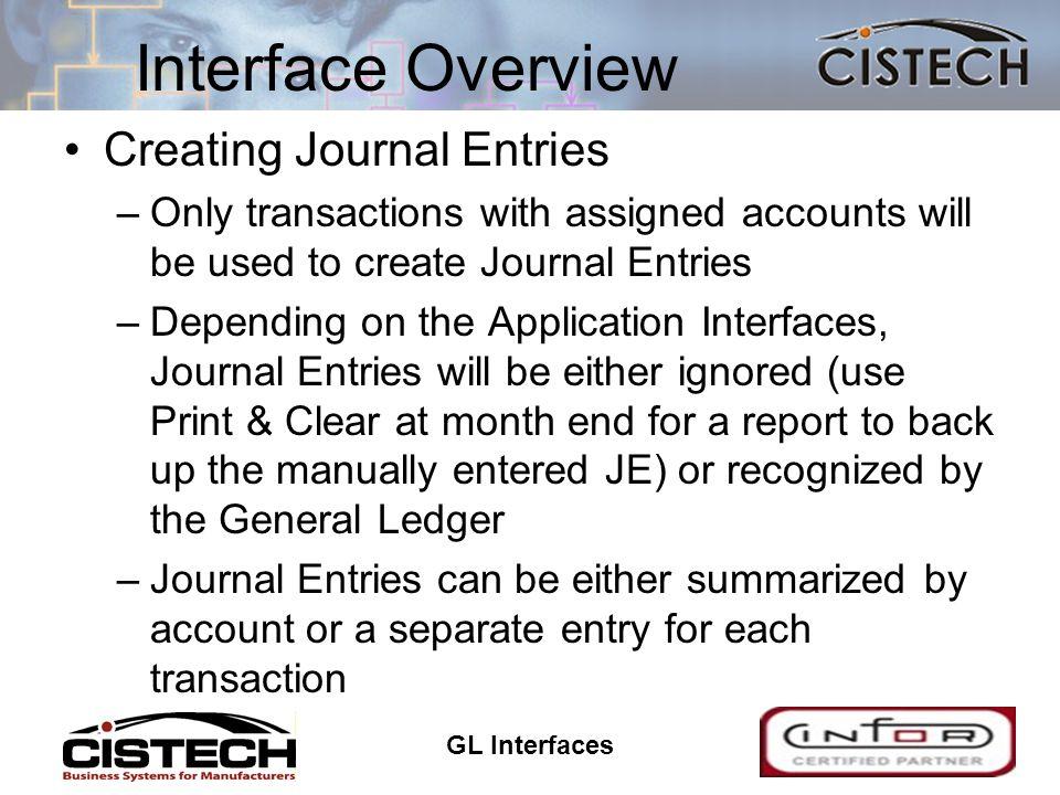 GL Interfaces 17 Wildcard Transactions * Designates wildcard