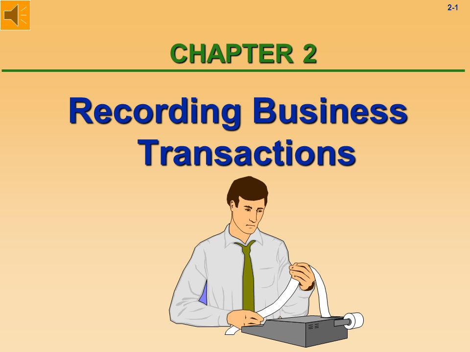 2-71 Journal Entries Solution 1 l Two accounts are affected: u Cash is increased by $10,000.