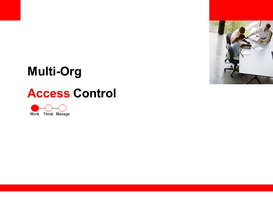 Multi-Org Access Control ThinkWorkManage