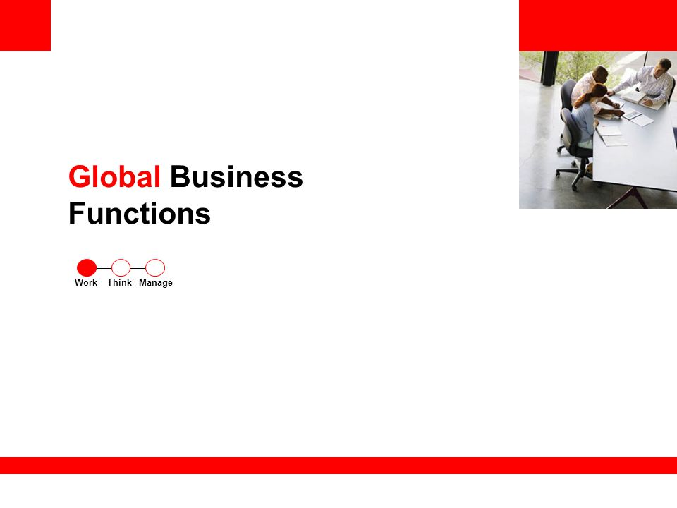 Global Business Functions ThinkWorkManage