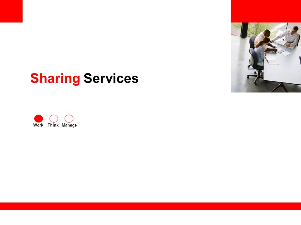 Sharing Services ThinkWorkManage