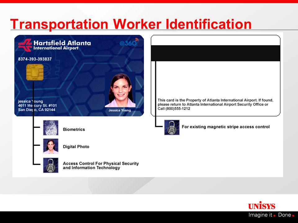 Transportation Worker Identification