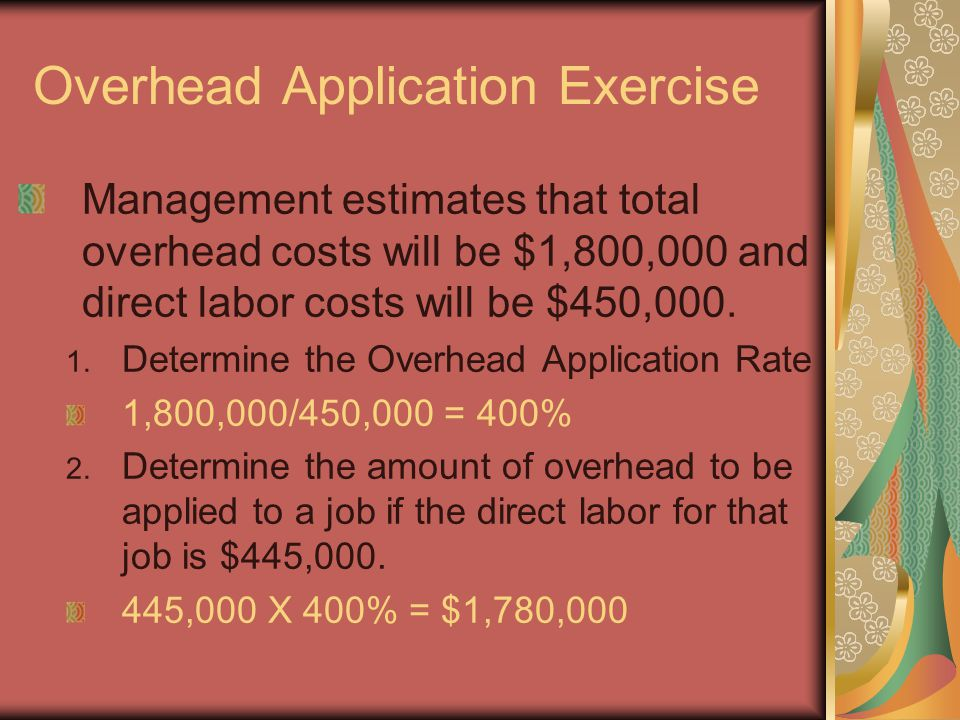 Objective 9 Complete Job Cost Sheets