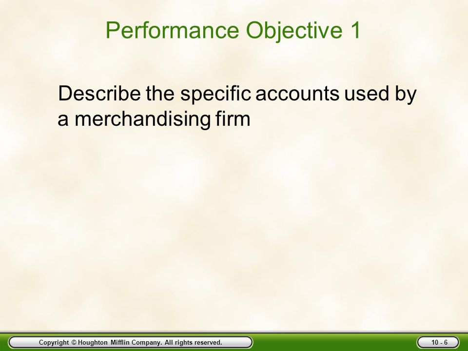 Copyright © Houghton Mifflin Company. All rights reserved. 10 - 77 Post Accounts Receivable