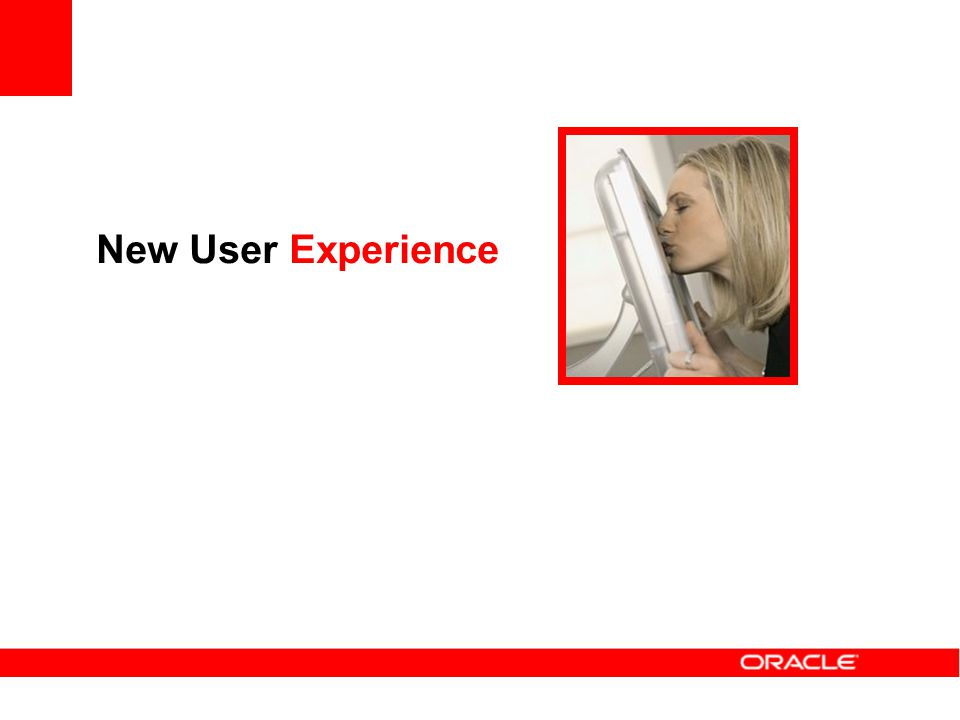 New User Experience
