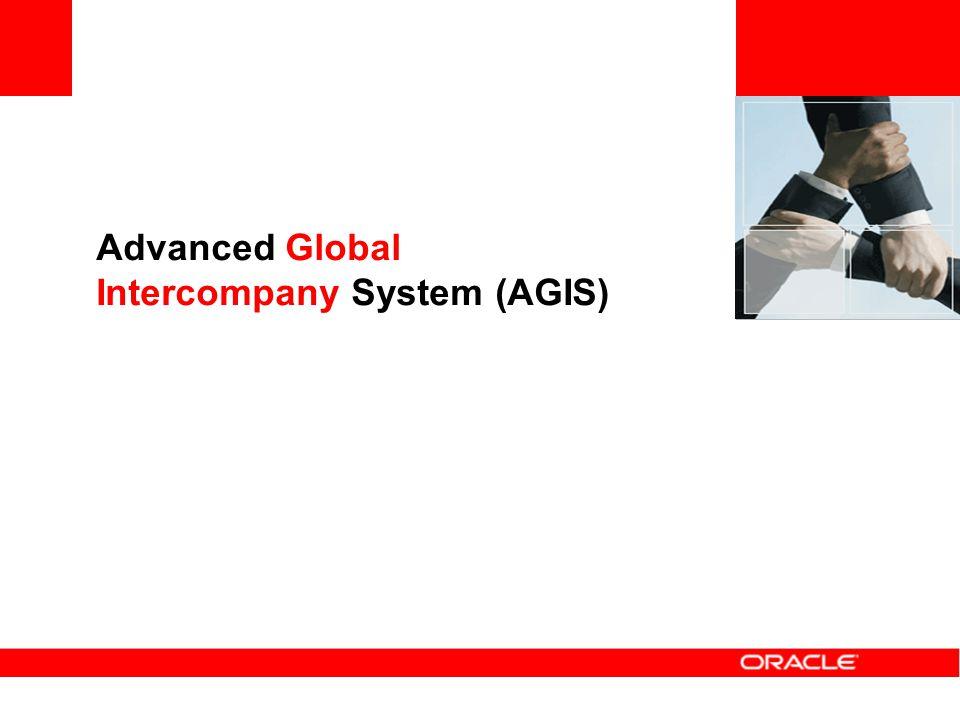 Advanced Global Intercompany System (AGIS)