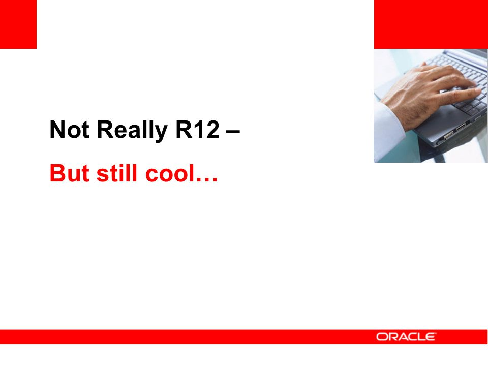 Not Really R12 – But still cool…