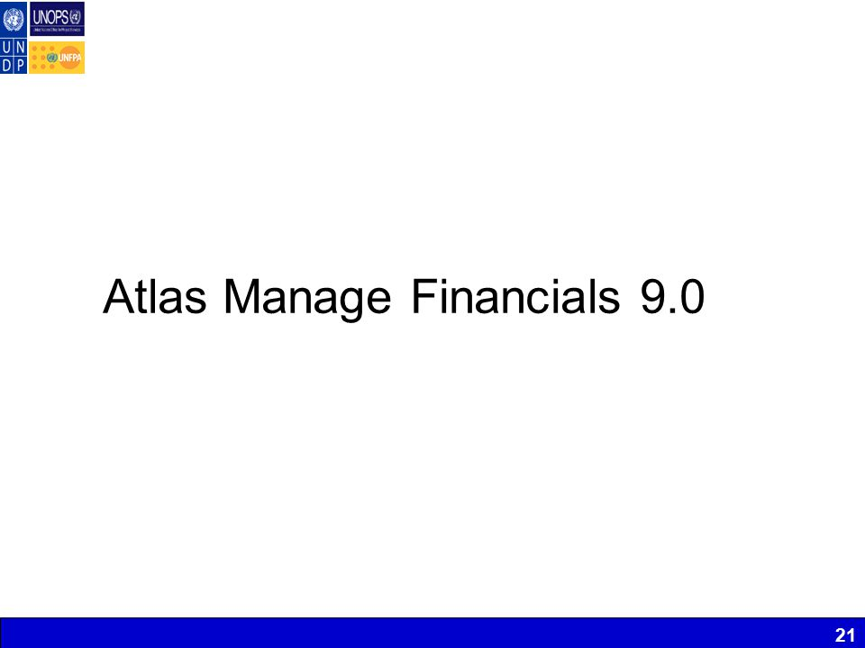 21 Atlas Manage Financials 9.0