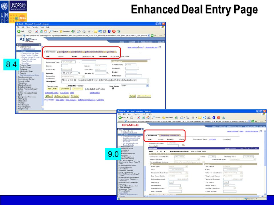 8.4 9.0 Enhanced Deal Entry Page