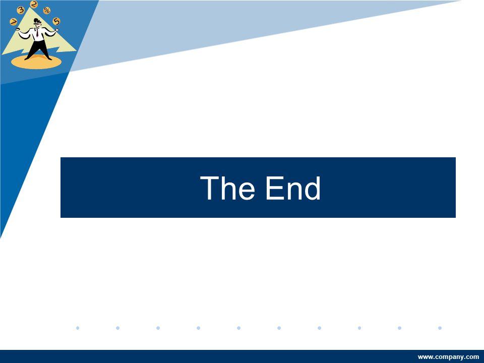 www.company.com The End