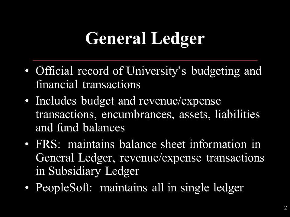 University of Missouri PeopleSoft ChartFields Overview