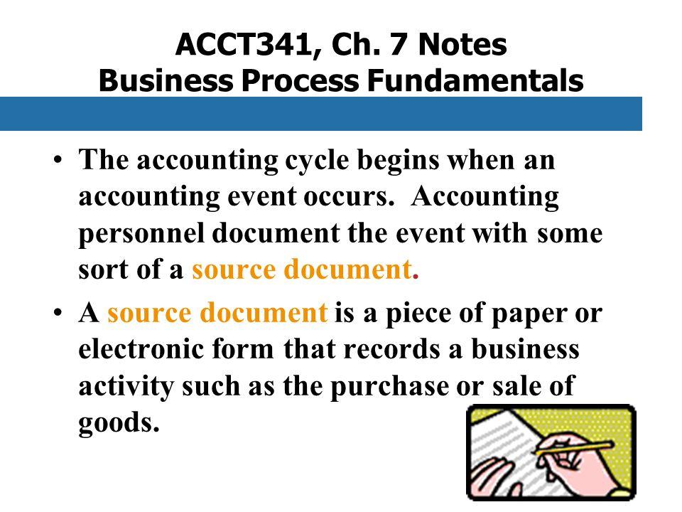 ACCT341, Ch.