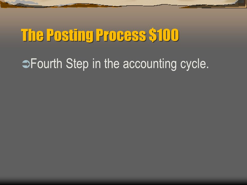 General Ledger $500  What are the six steps to open an account with a balance
