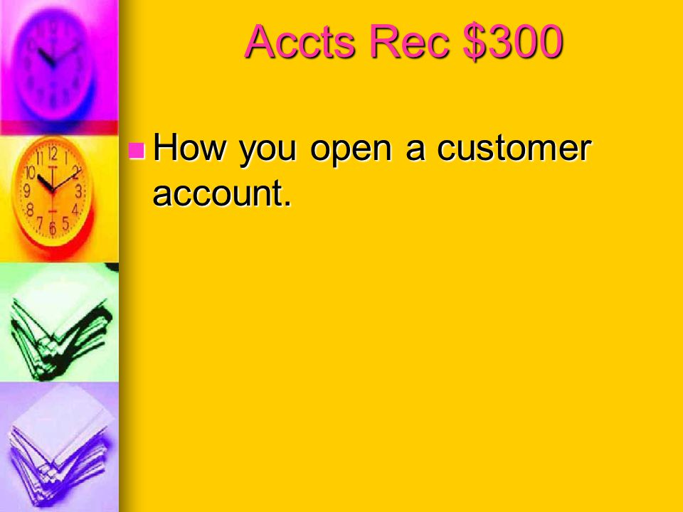 Accts Rec $200 The ending balance in the controlling acount.