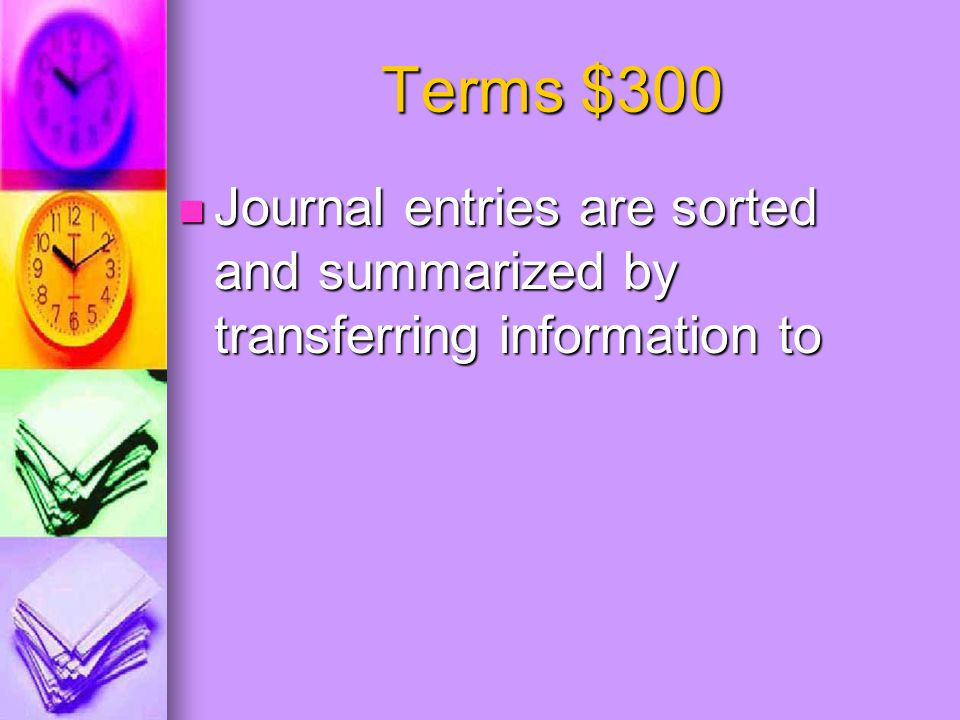 General Ledger $300 Amounts recorded in the general amount columns of a cash receipts journal are posted where?