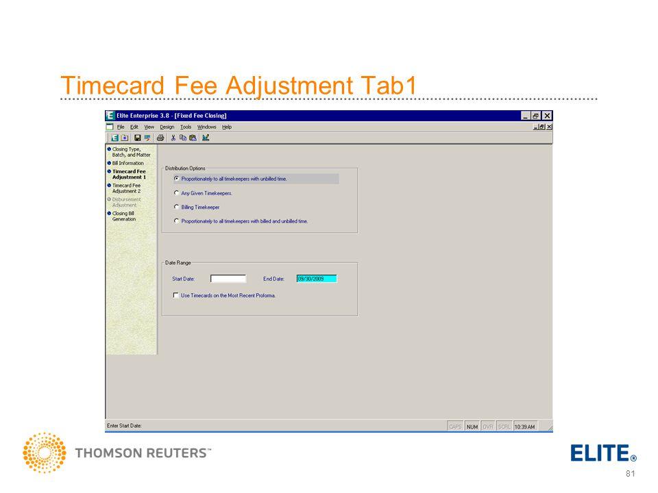 81 Timecard Fee Adjustment Tab1