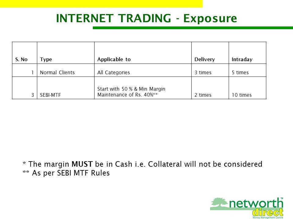 INTERNET TRADING - Exposure S.