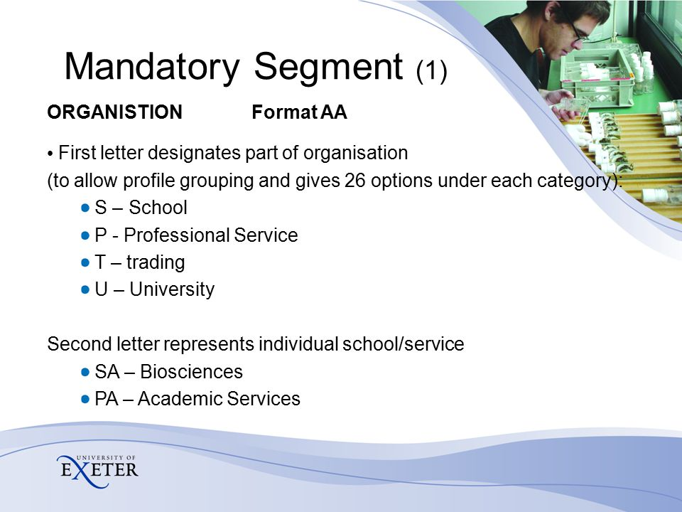 Research ledger - proposed segments Optional Unit of assessment Sponsor type Taxation status Project number Transaction analysis (PI staff number)