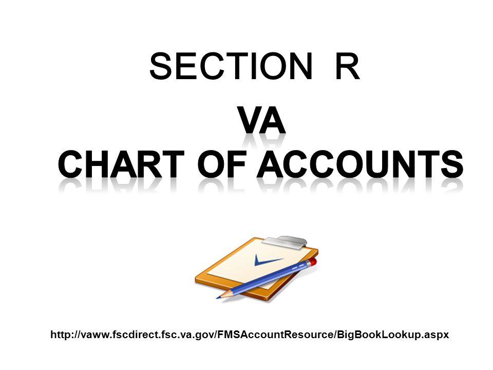 SECTION R http://vaww.fscdirect.fsc.va.gov/FMSAccountResource/BigBookLookup.aspx